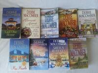 Lot of (9) Debbie Macomber Novels Collection, Paperback, Romance