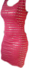 Red and Gold Evening Clubbing Party Cocktail Mini Cube Dress for Christmas