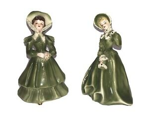Vintage Florence Ceramic figurine Dolls Lot of 2 Meg and one other unknown