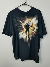Nike Dri Fit Basketball Shirt Size Xl Black