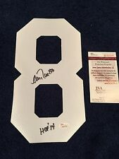 """ANDRE REED AUTOGRAPHED BUFFALO BILLS FOOTBALL JERSEY NUMBER """"8"""" JSA"""
