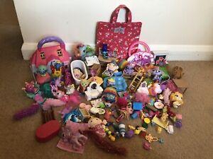 Bundle of girls small figures toys, bits & bobs Pocket Money Stocking Fillers