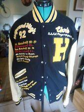 HIGH SCHOOL LETTERMAN JACKET Chris Davis, ALL STAR HAYWARD HIGH SCHOOL 1992 CAL