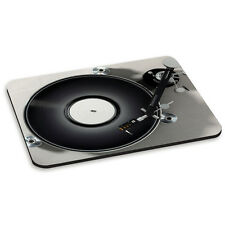 TURNTABLE RECORD PLAYER SILVER #4 DJ Mixer Vinyl Funny PC Computer Mouse Mat Pad