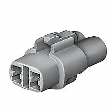 CONNECTOR HOUSING SUMITOMO MT SEALED 6180-2181 MALE 2 WAY - PRICE FOR 2 PIECES