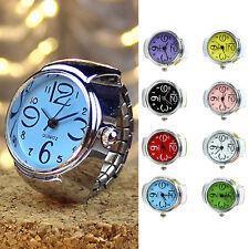 Creativo Elástico Anillos Relojes Redondo Anillo de dedo Ring Regalo
