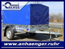 PKW Anhänger MAXX Blyss  750kg GG 204x110x100 cm Anhänger mit Hochplane