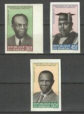 Senegal Precursors of Negritude Maran Garvey Dr Mars Imperforated Proofs ** 1970