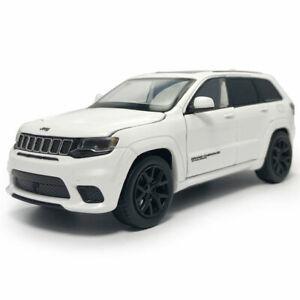 1:32 Jeep Grand Cherokee Trackhawk Model Car Diecast Toy Vehicle Kid White Sound