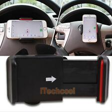 Universal Cell Phone Car Steering Wheel GPS Mount Holder Sticky for iPhone HTC