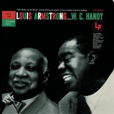 "LOUIS ARMSTRONG CD: ""LOUIS ARMSTRONG PLAYS W.C. HANDY"" 1954-1956, 1997 REISSUE"