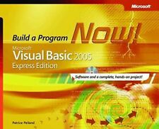 """AS NEW"" Microsoft® Visual Basic® 2005 Express Edition: Build a Program Now! (Pr"