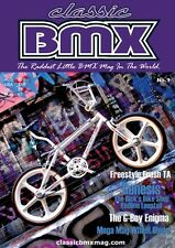 Classic BMX Magazine No7 Old School Hutch Mongoose Skyway Redline Haro GT JMC SE