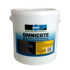 Omnicote Rust Converter 2.5Ltr - Satin Black Finish with builtin Acrylic Topcoat