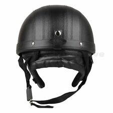 CARCHET Motor Motorcycle Scooter Open Face Helmet Visor Vintage Goggles ABS Kits