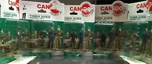 DRAGON TIGER ACES COMPLETE FACTORY SEALED SET OF 5 FIGURES  1/35