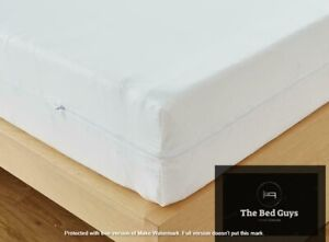 CoolTouch Mattress Zipped COVER *ANTI ALLERGY/DUST*  15cm - 35cm CUSTOM SIZE