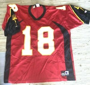 XFL San Francisco Demons Champion Jersey size 48 XL #18 NWT