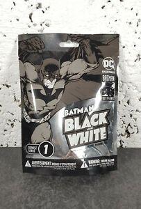 DC 80 Yrs Collectables Batman Black & White Mini Figure Series 1 ~ New & Sealed