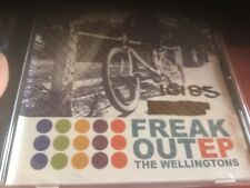 used cd ex radio station the wellingtons rare Ep freak out