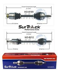 For Acura TSX FWD 2004-2008 Pair of Front CV Axle Shaft Assemblies SurTrack Set