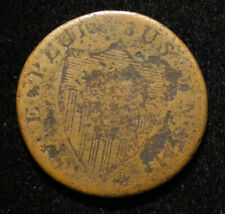 1787 New Jersey Us Copper Colonial Large Cent Penny Nj Coin Free Shipping