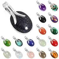 925 Sterling Silver Gemstone Handmade Pendant Women Jewelry eE244