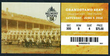 JUSTIFY - 2018 BELMONT STAKES GRANDSTAND HORSE RACING ADMISSION TICKET!