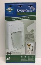(New) PetSafe Small SmartDoor Electronic Dog Door, Small