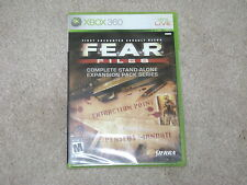FEAR FILES...XBOX 360...***SEALED***BRAND NEW***!!!!!