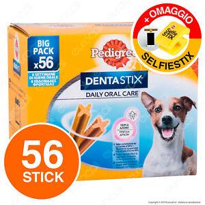 Pedigree Dentastix Small per l'igiene orale del cane - Confezione da 56 Stick •