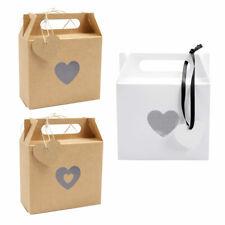 25 Kraft Paper Box Gift Packing Candy Bag Birthday Party Wedding Anniversary DIY