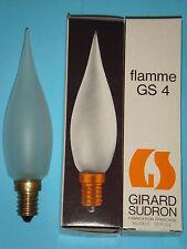 Ampoule Flamme Coup de Vent Grand Siecle GIRARD SUDRON LAMPE CROZE 60W E14 NEUF