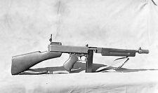 WW2 Photo WWII US M1928 Thompson Submachine Gun  World War Two  Weapon /1501
