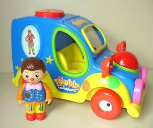 Mr Tumble Fun Sounds Musical Car Something Special Colourful Toy with Figure