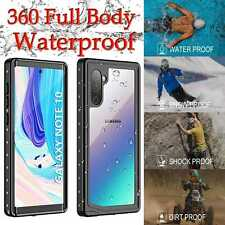 Case For Samsung Galaxy S20 S10 S9 S8 Note 20 10 + Ultra 5G Waterproof 360 Cover