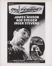 "James Mason in ""Cry Terror!"" - 1958 - studio poster art - Photo"