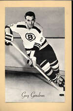 1944-63 BEEHIVE GROUP 2 PHOTOS   JEAN GUY GENDRON BOSTON BRUINS EX-MT F2541