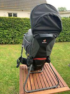 Deuter Kid Comfort 1 Plus Kindertragerucksack, neuwertig, keine Gebrauchsspuren