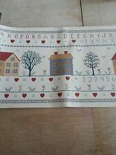 Vintage School House Decorative Wallpaper Borders Prepasted 45ft 3 Rolls 15Ft Ea