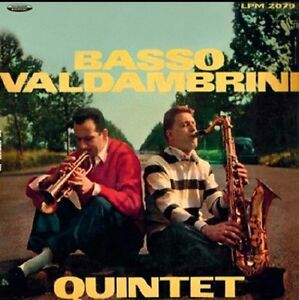 BASSO VALDAMBRINI QUINTET Basso Valdambrini quintet LP jazz
