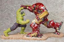 KOTOBUKIYA Avengers Age of Ultron Hulk & Hulkbuster Iron Man ARTFX + Statue Set