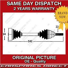 SEAT INCA 1.6 i / 1.7 D / 1.9 D / 1.9 SDi DRIVESHAFT LEFT NEAR SIDE 1995 > 2003