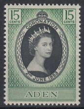 1953 Aden */MLH Mi.48 Krönung Coronation Königin Queen Elisabeth II. [sv0400]