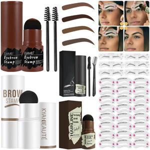 Eyebrow Stamp Kit 24PCS Brow Stamp Stencils Shaping Definer Shaper Makeup Set
