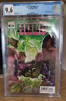 Immortal Hulk #23. Alex Ross Cover CGC Graded 9.6