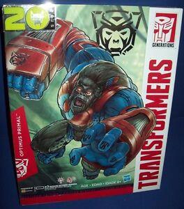 TRANSFORMERS GENERATIONS 20th anniversary OPTIMUS PRIMAL Beast Wars NIB VHTF