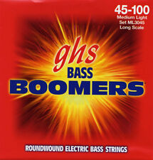 GHS 3045ML BOOMERS JEU CORDE BASSE ELECTRIQUE - MEDIUM LIGHT 45-100