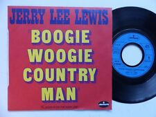 JERRY LEE LEWIS Boogie woogie country man 6168006 Pressage France RRR