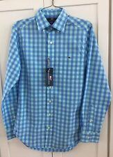 Vineyard Vines Men's Astarboard Check Pool Side Fit Tucker Shirt XS NWT